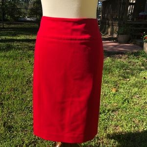 Red pencil skirt worthington